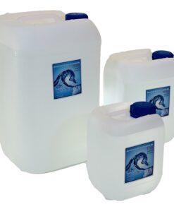 Demineraliseretvand i dunke