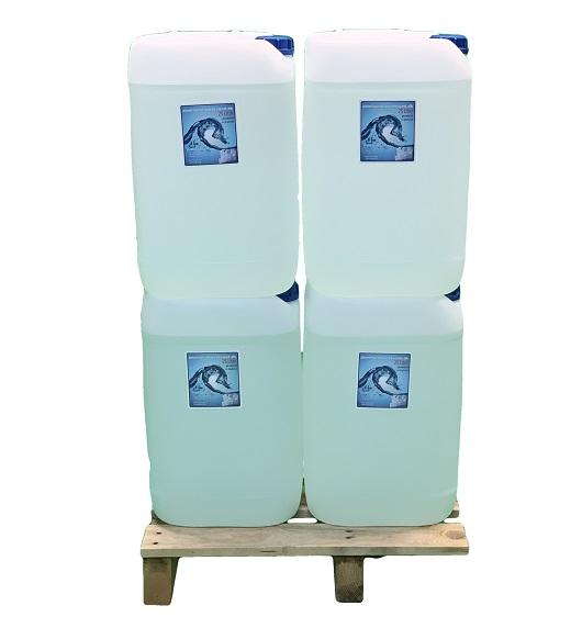 Demineraliseretvand 25 liters 4 stk. dunk